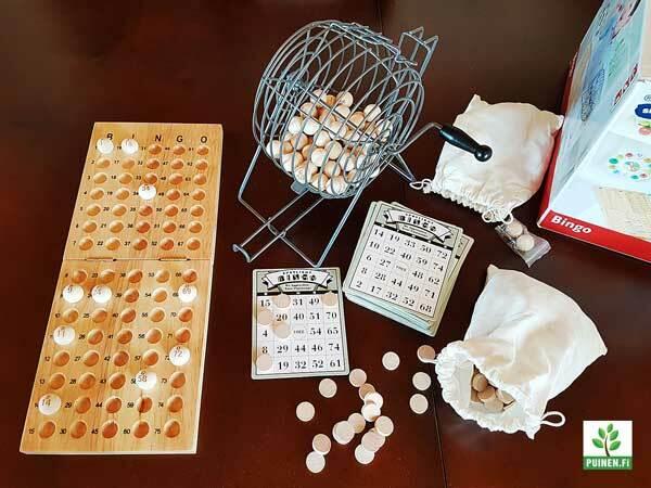 bingo ja lottopelit